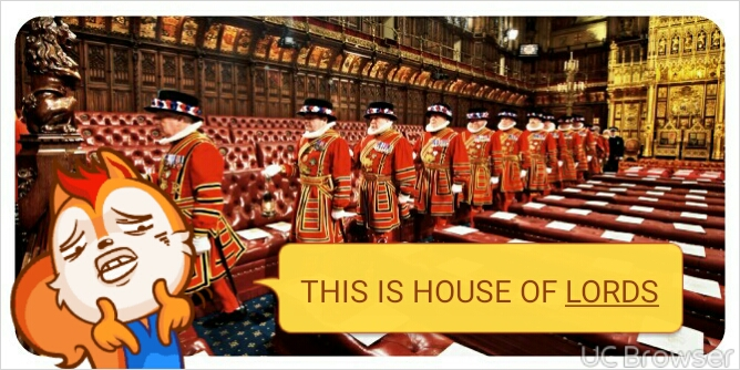UK Democracy House Commons Lords